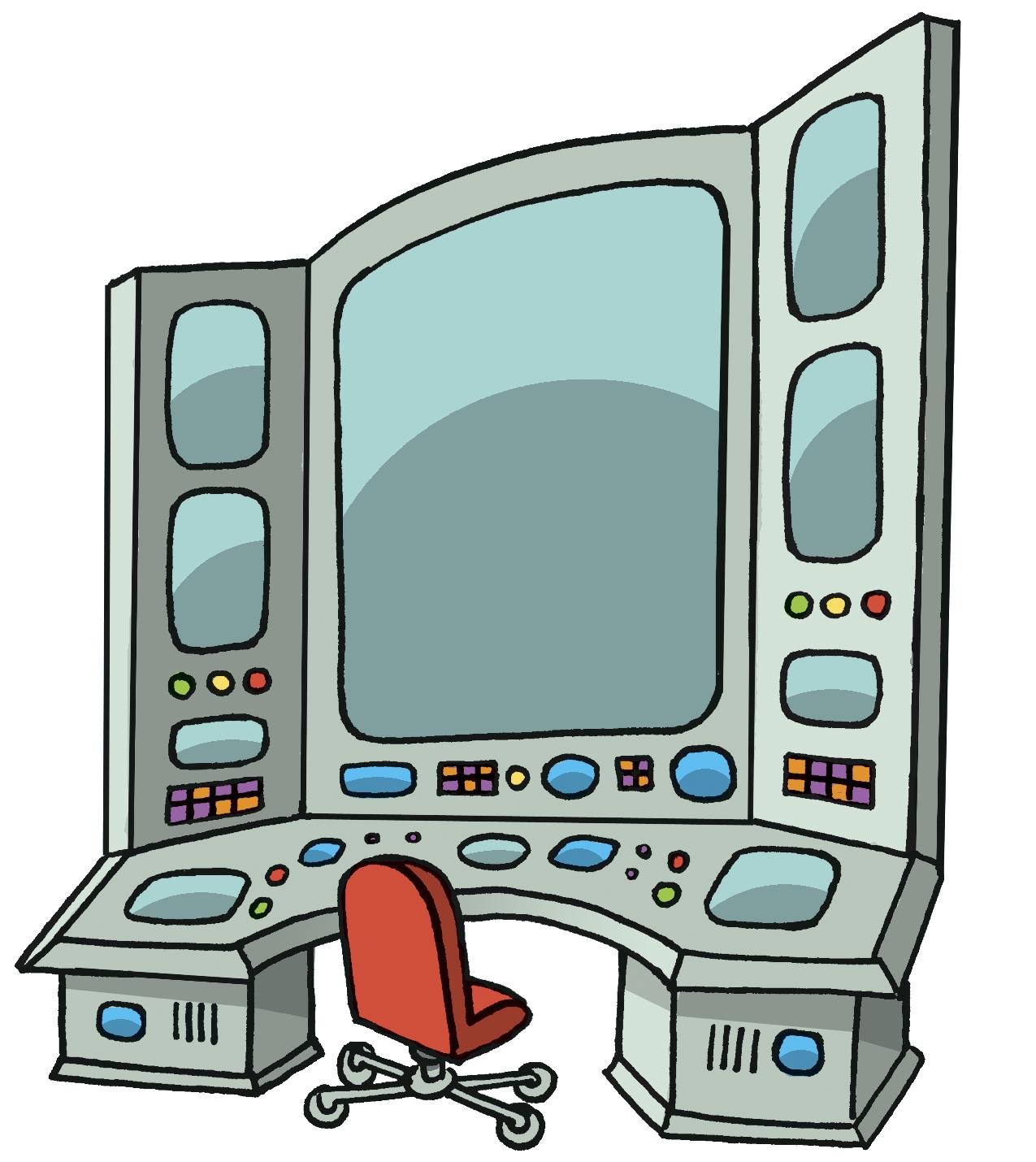 Command center clipart.