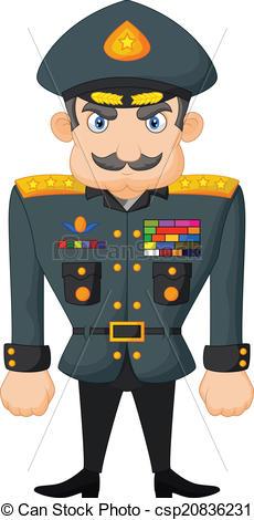 Commander Clip Art.
