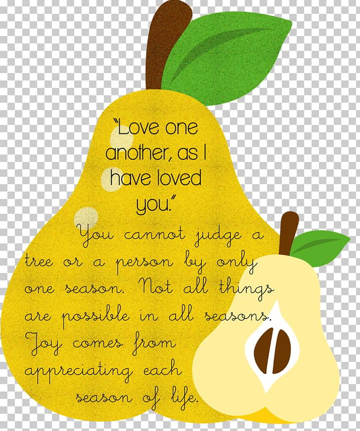 Pear New Commandment Love Craft John 13 PNG, Clipart, Craft.