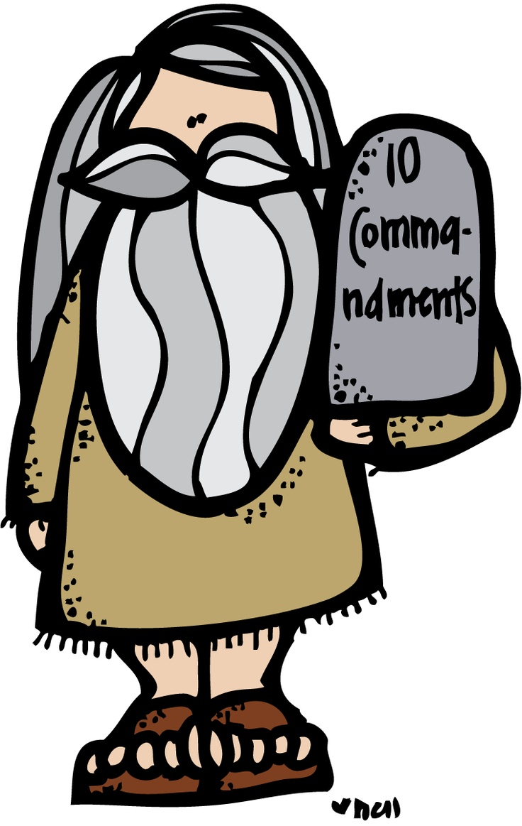 10 Commandments Christian Clip Art.