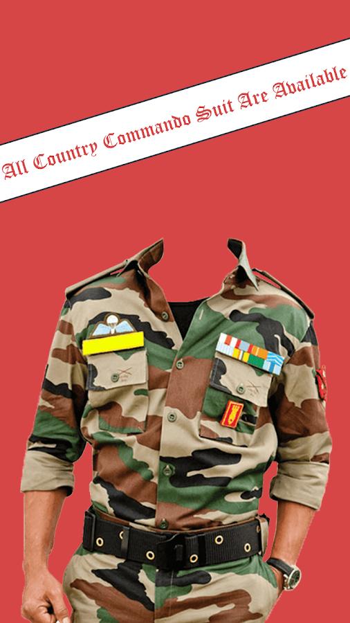 Commando Photo Suit 2.0.1 APK Download.