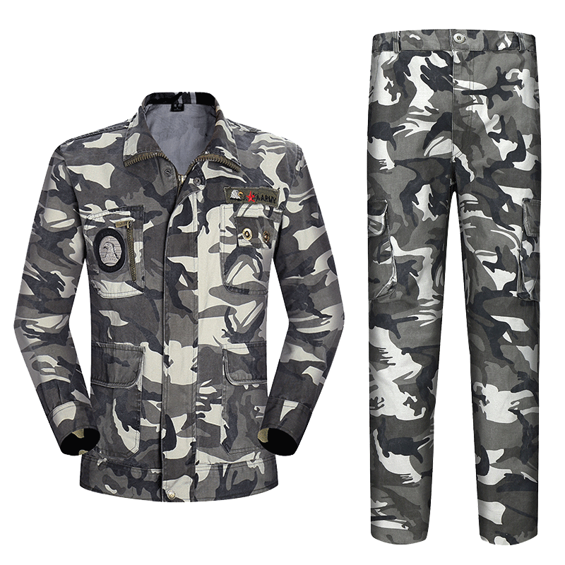 Authentic Chinese military uniform camouflage suit male commando field  military clothing outdoor military enthusiasts training clothes cotton.
