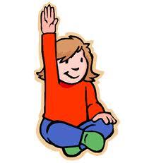 Raise Hand Clipart.