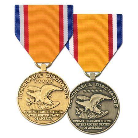 ProductImage Honorable Discharge Commermorative Medal.