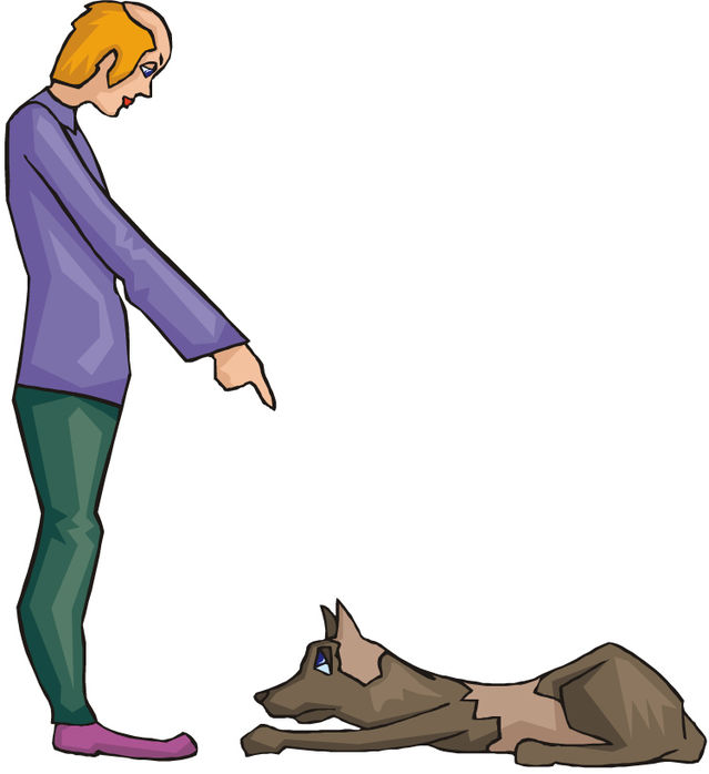 Who Gives a Dog a Command and How It Is Given Matters.