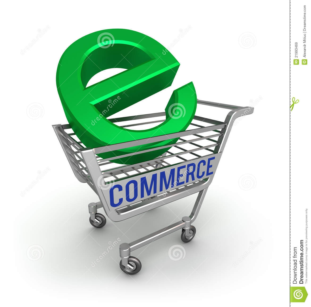 E commerce clipart.