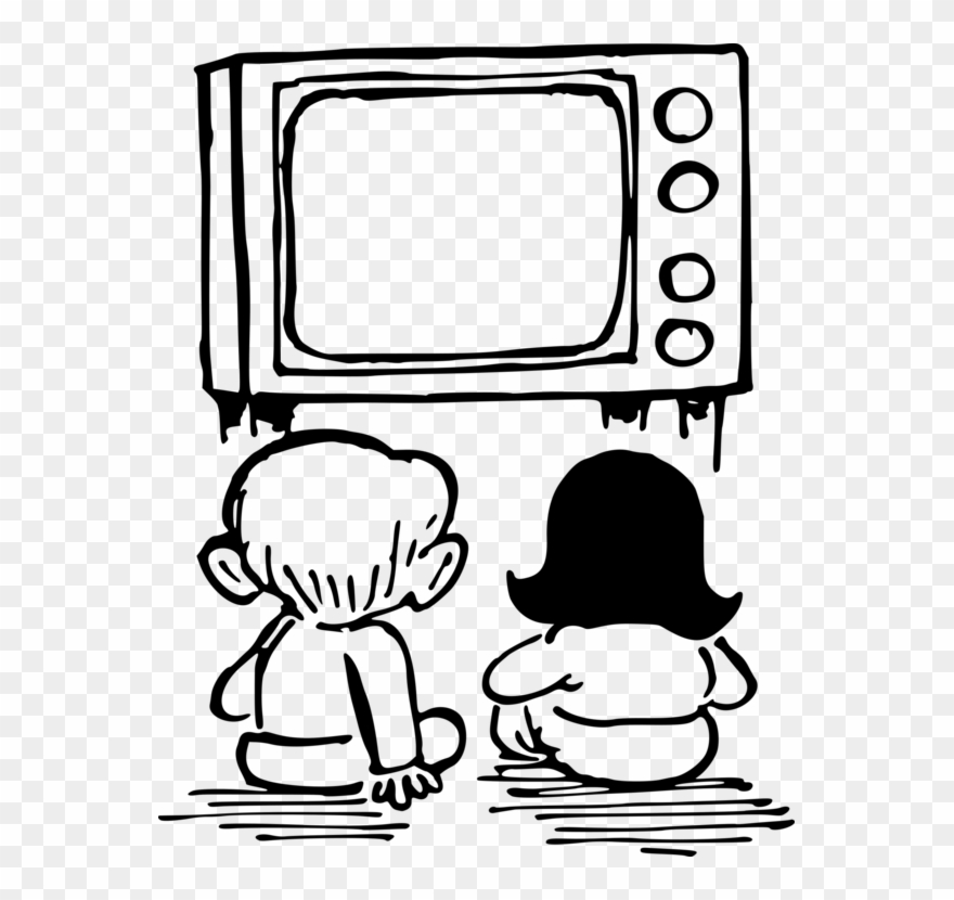Television Drawing Cartoon Child Free Commercial.