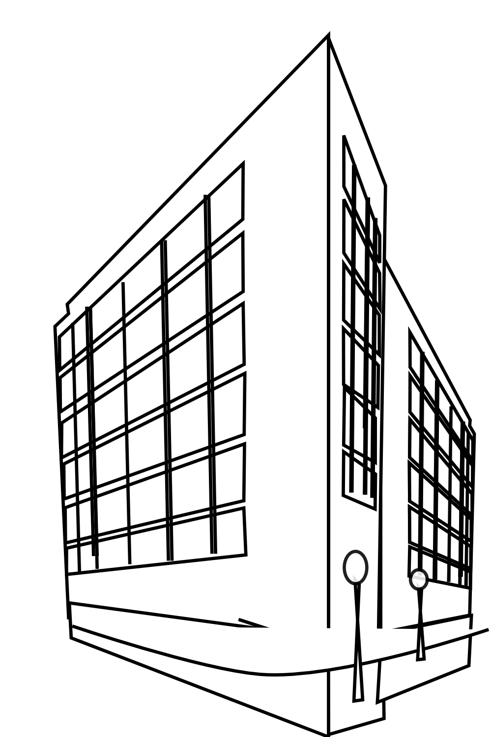 White building clipart - Clipground