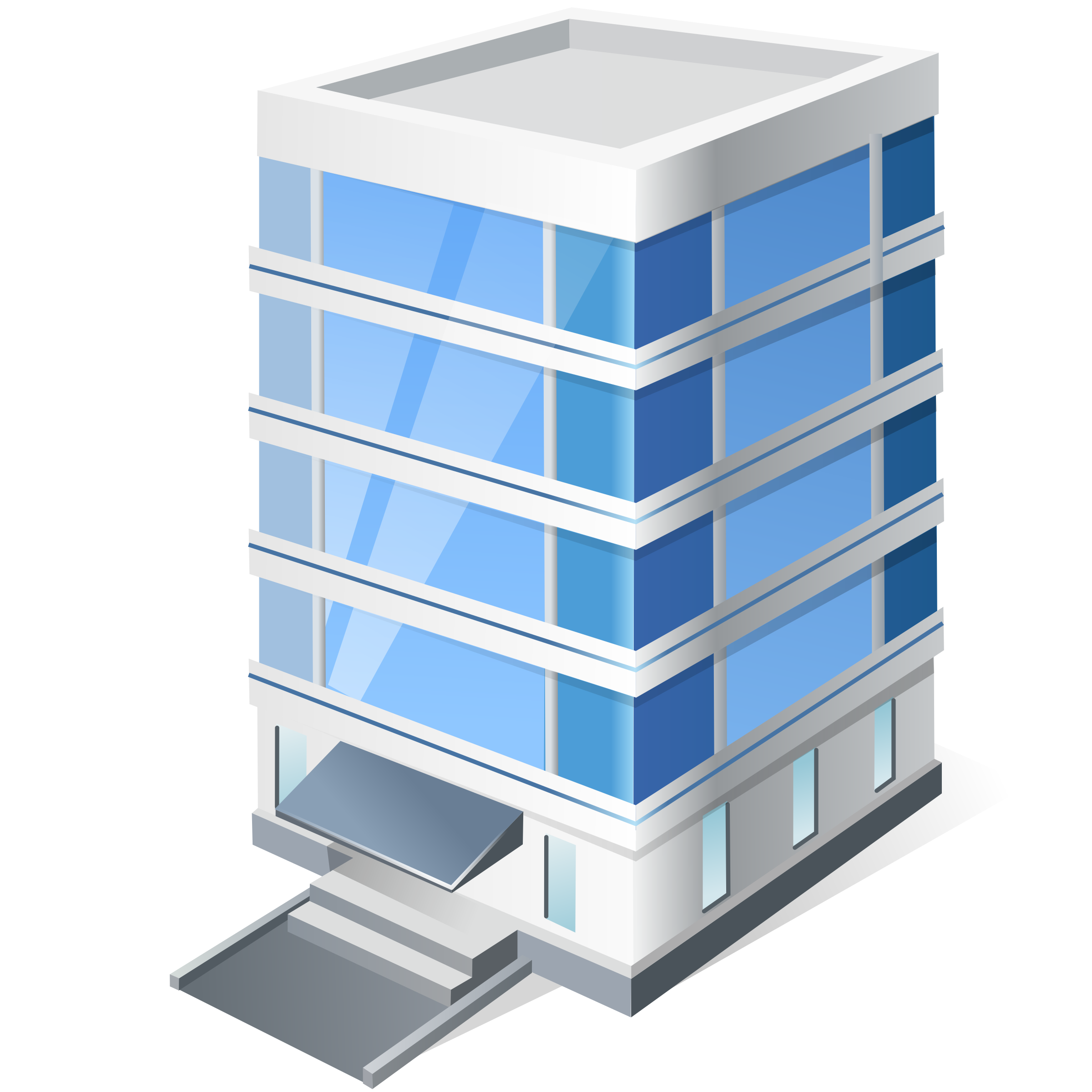 Commercial building clipart #12