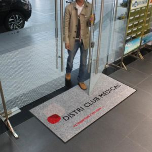 China Promotion Commercial Entrance Mats with Logo for Sale.