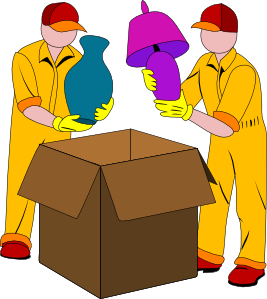 Packing Clipart.
