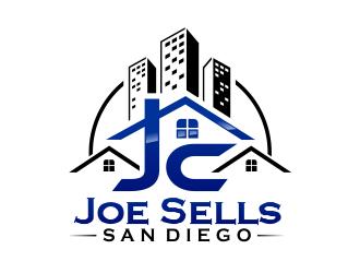 JG COMMERCIAL REAL ESTATE logo design.