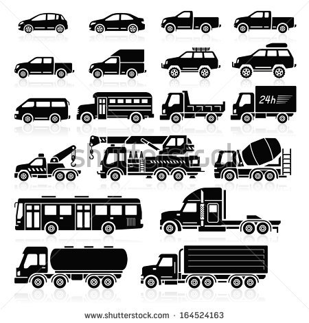 Commercial vehicle clipart #10