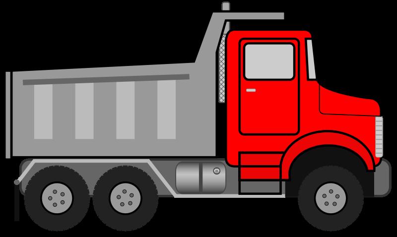 Free to Use & Public Domain Dump Truck Clip Art.