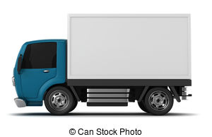 Commercial vehicle clipart #12