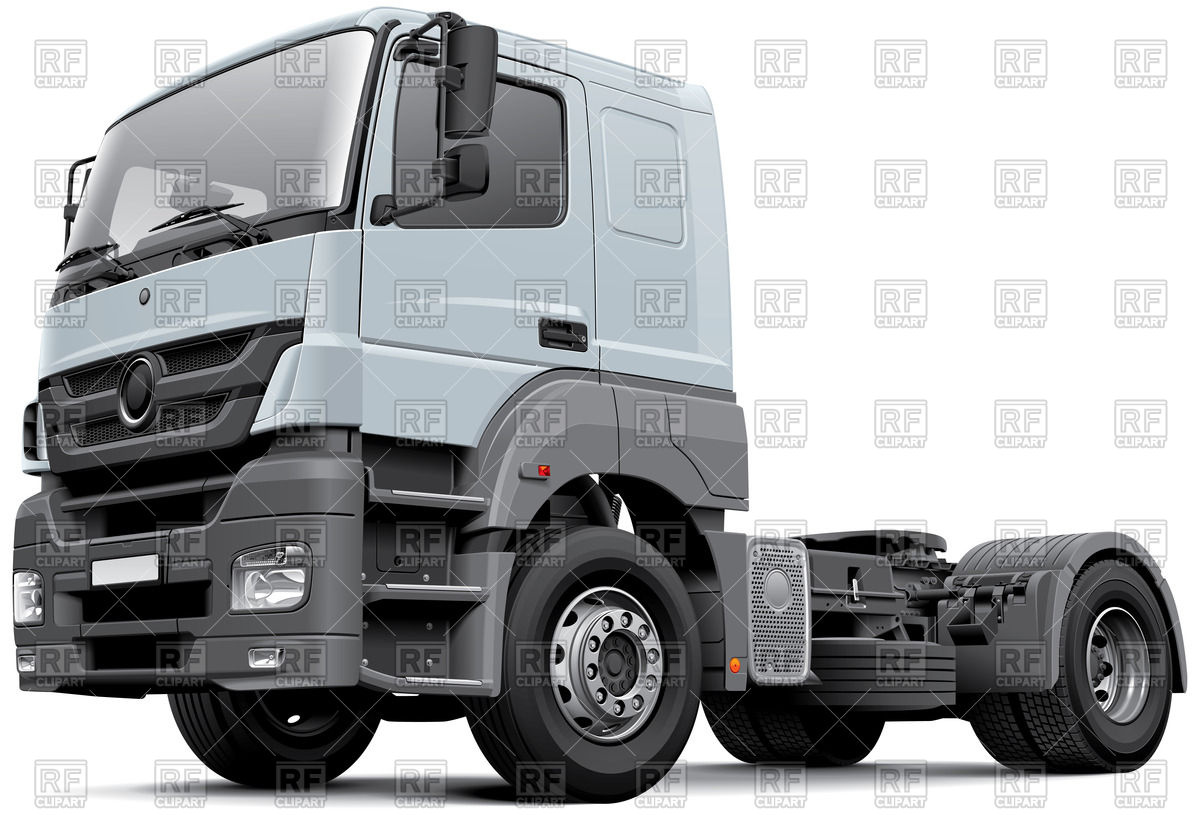 European commercial freight vehicle.