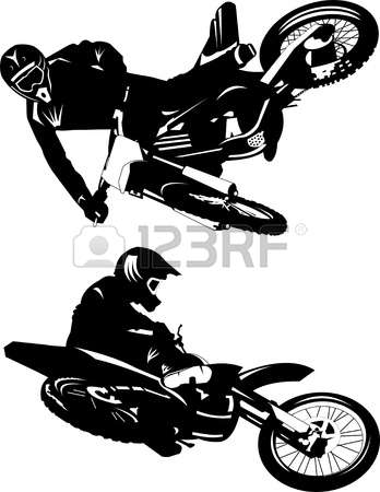6,769 Motocross Stock Vector Illustration And Royalty Free.