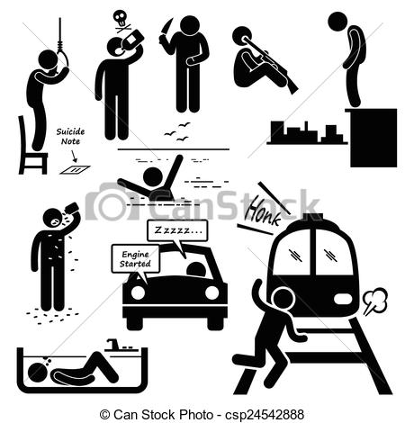 Commit suicide Illustrations and Clip Art. 33 Commit suicide.