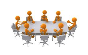 Committee Meeting Clipart #1.
