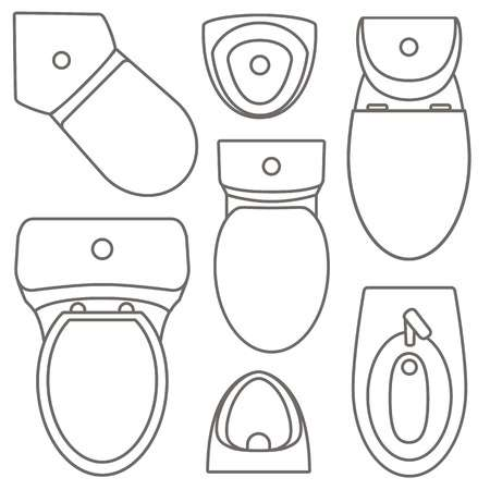 57 Commode Bowl Stock Illustrations, Cliparts And Royalty Free.