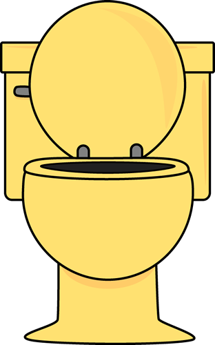 Restroom clipart commode.