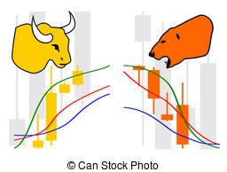 Vector Clip Art of Commodity, Forex trading vector csp5705251.