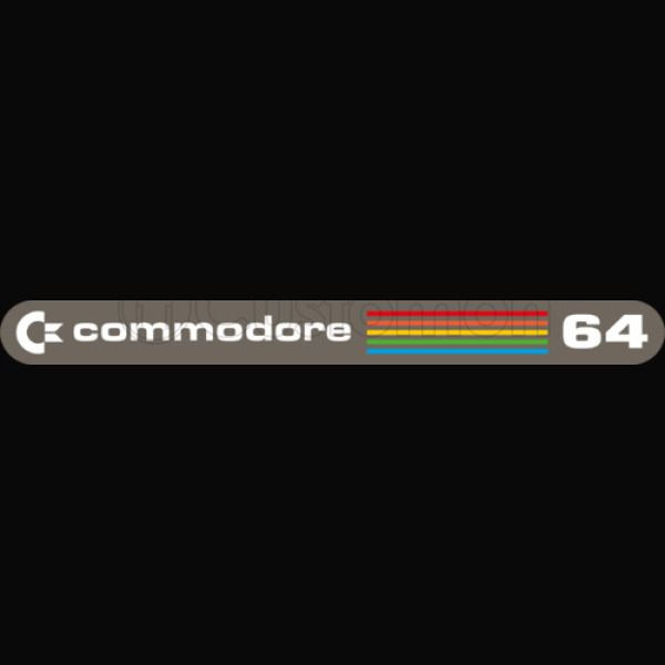Commodore 64 Logo Baby Bib.