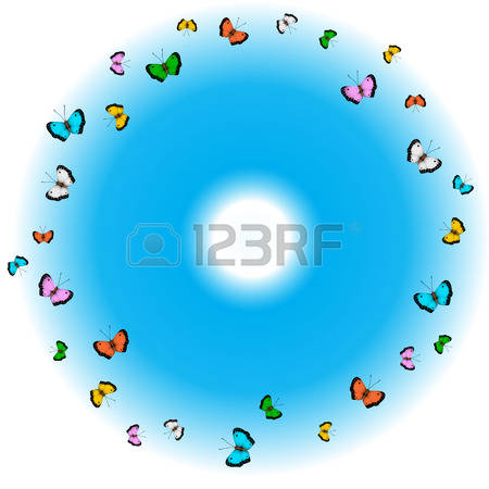 68 Common Blue Butterfly Stock Vector Illustration And Royalty.