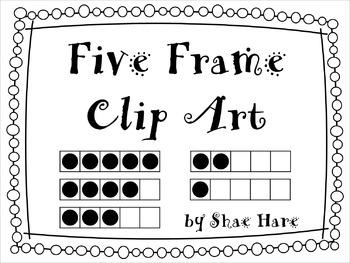 {Five Frame} Clip Art 0.