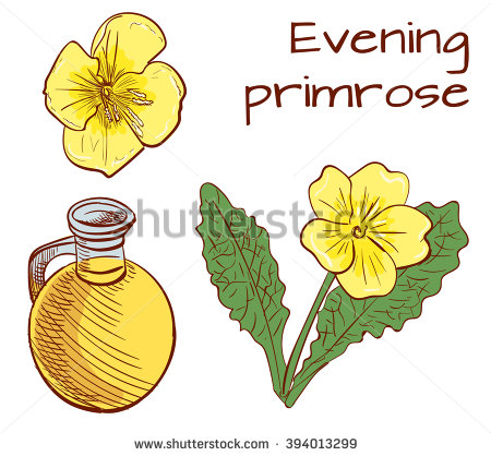 Primrose Oil Stock Photos, Royalty.