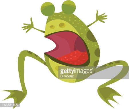 Common Frog Vector Art And Graphics.