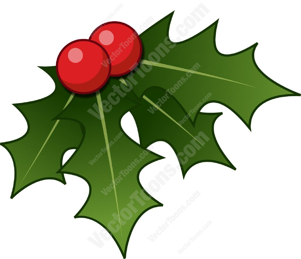 Christmas Holly Cartoon.Common Holly Clipart 20 Free Cliparts Download Images On
