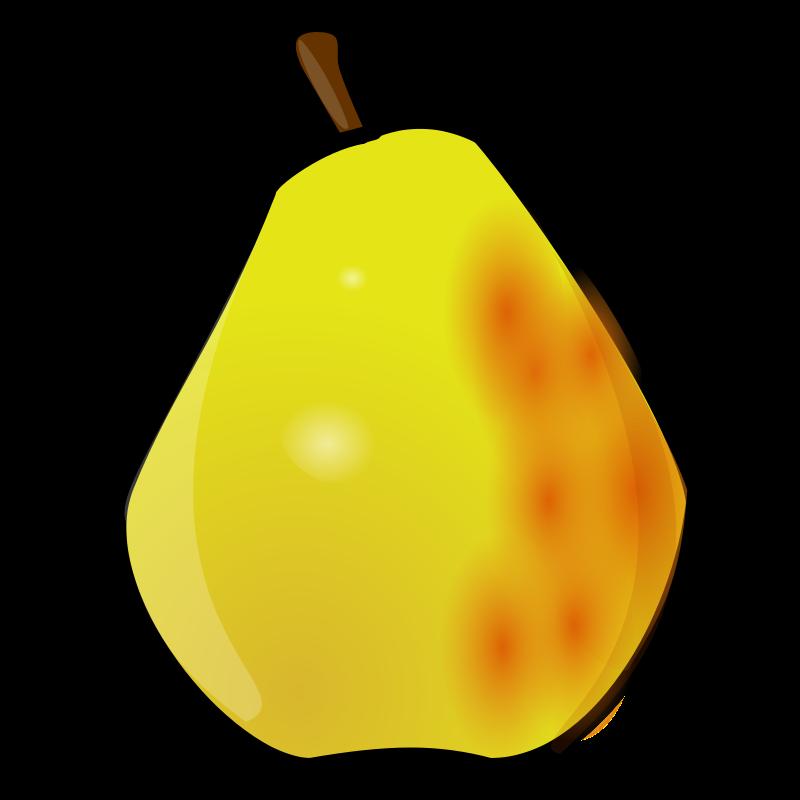 Free clip art pears.