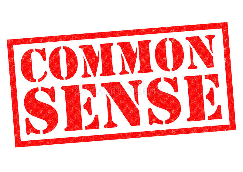 Common Sense Stock Illustrations.