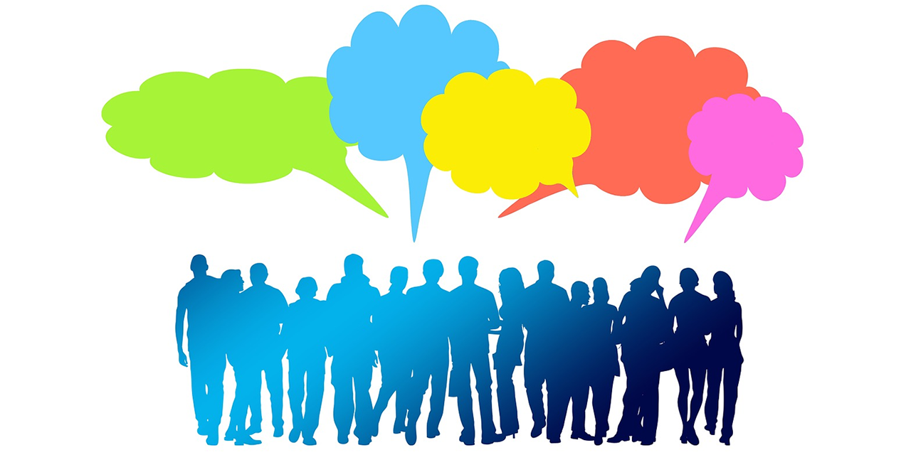 Best Free Group Communication Clip Art Drawing » Free Vector Art.
