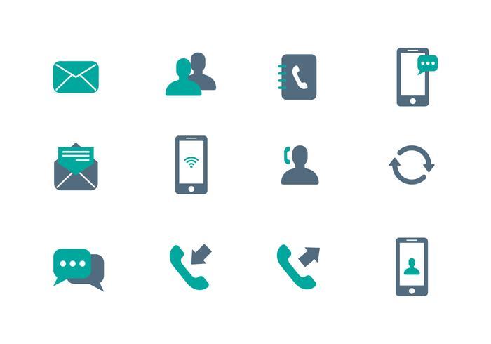 Communication Icon Vector.