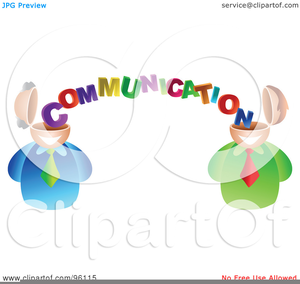 Poor Communication Clipart.