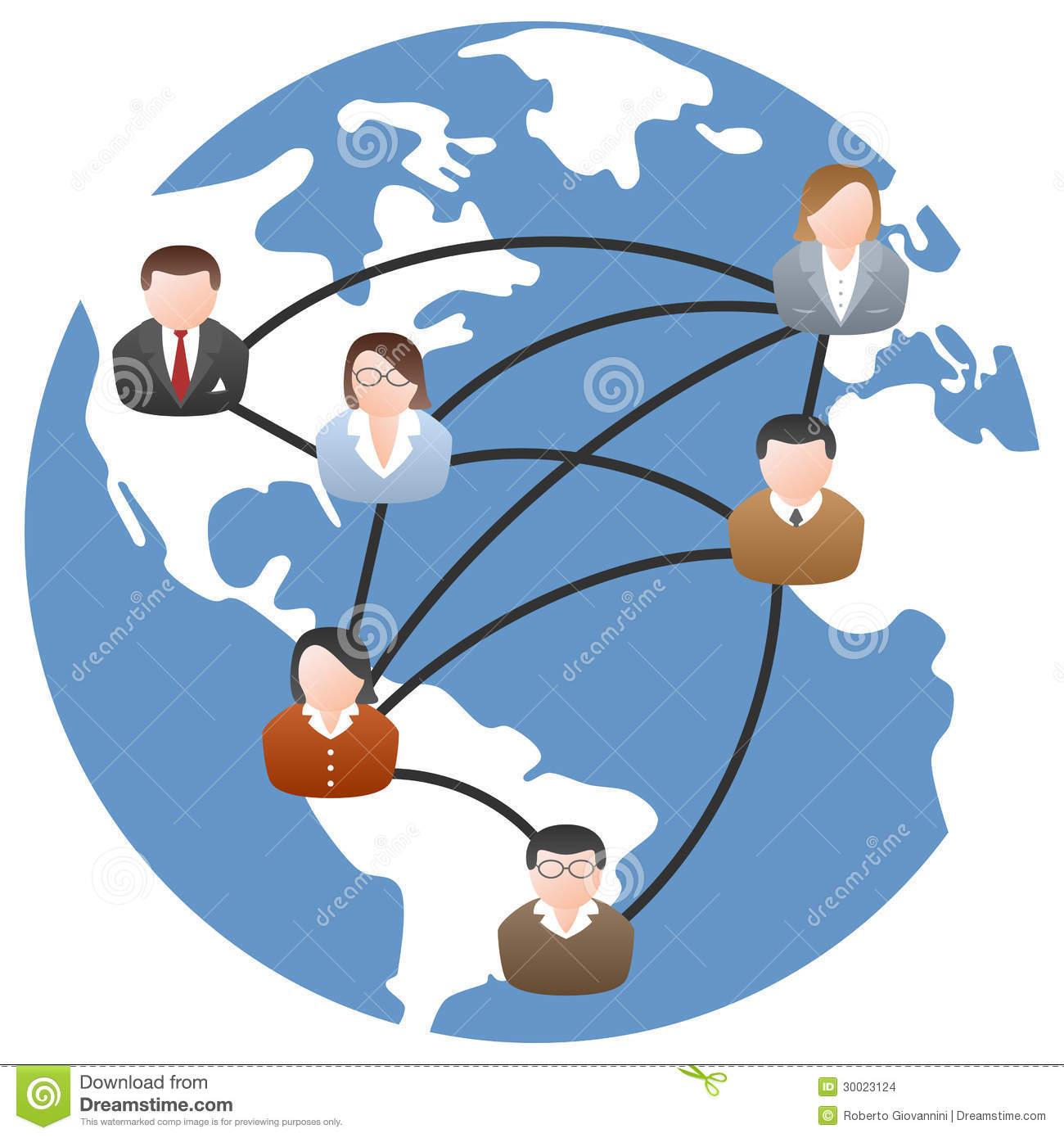 World Communication Network Stock Images.