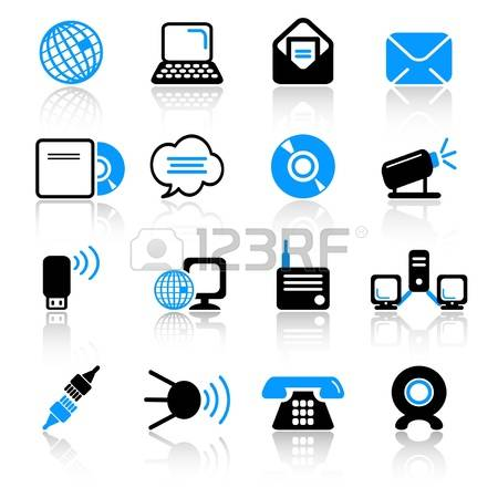 43,755 Communications Technology Stock Vector Illustration And.