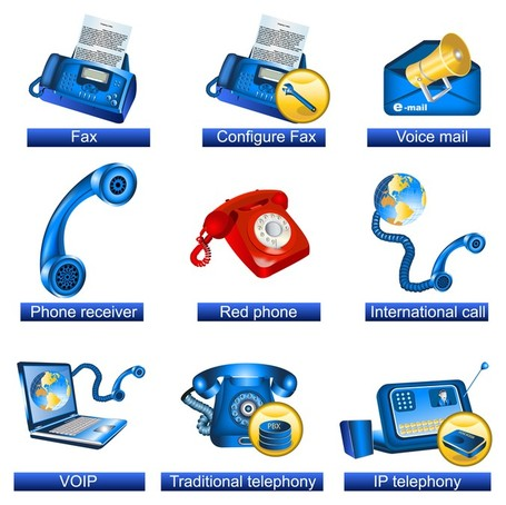 Communication Clip Art, Vector Communication.