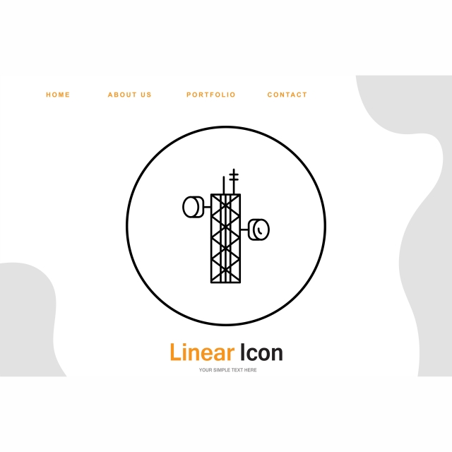 Tower Icon For Your Project, Tower, Communication Tower, Radio PNG.