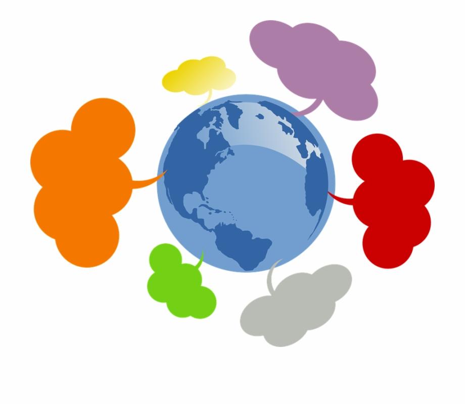 Community Network Globe World Earth International.