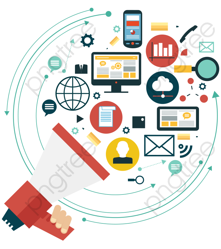 Internet Communication, Speaker, Information PNG and Vector with.
