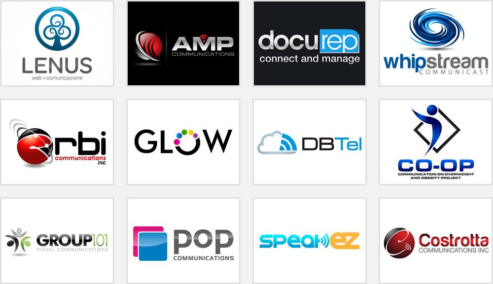 Communication Company Logo Design Ways to Prep Up.