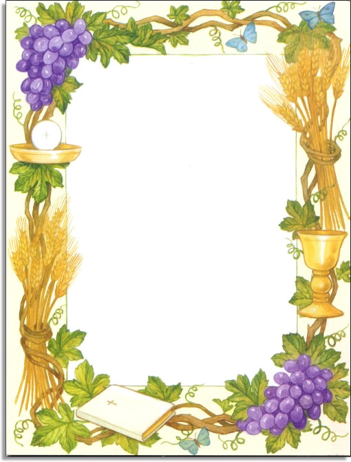 Wheat And Grapes Clipart.