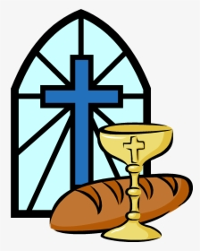 Communion Bread And Wine Clip Art.