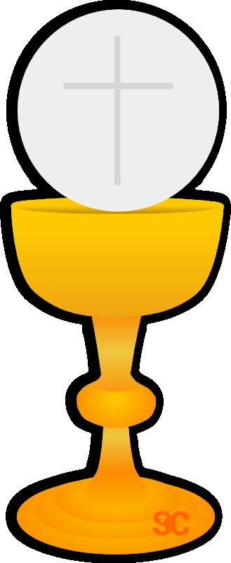 Communion Host Clipart.