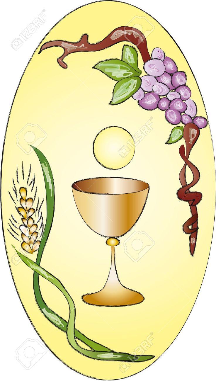 Communion cup clipart.