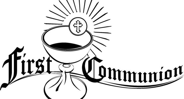 First communion clipart black and white 2 » Clipart Portal.
