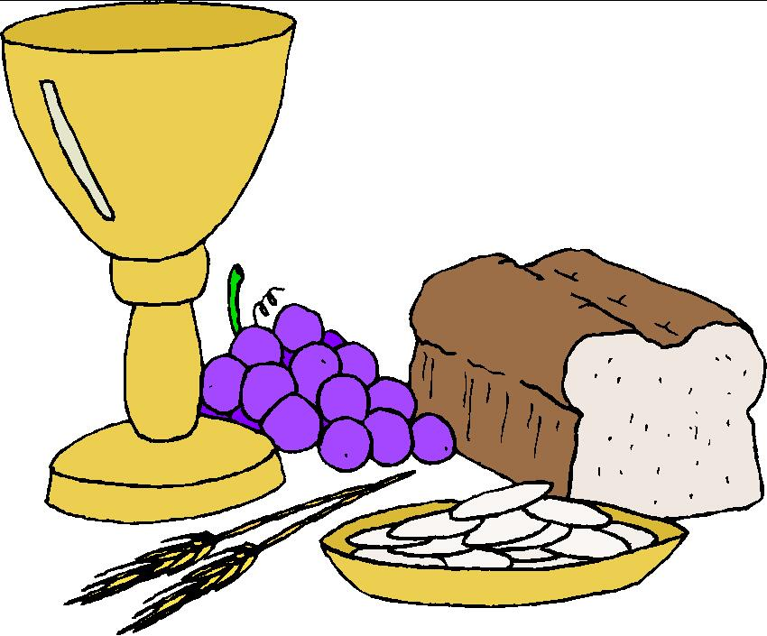 Communion Clipart.